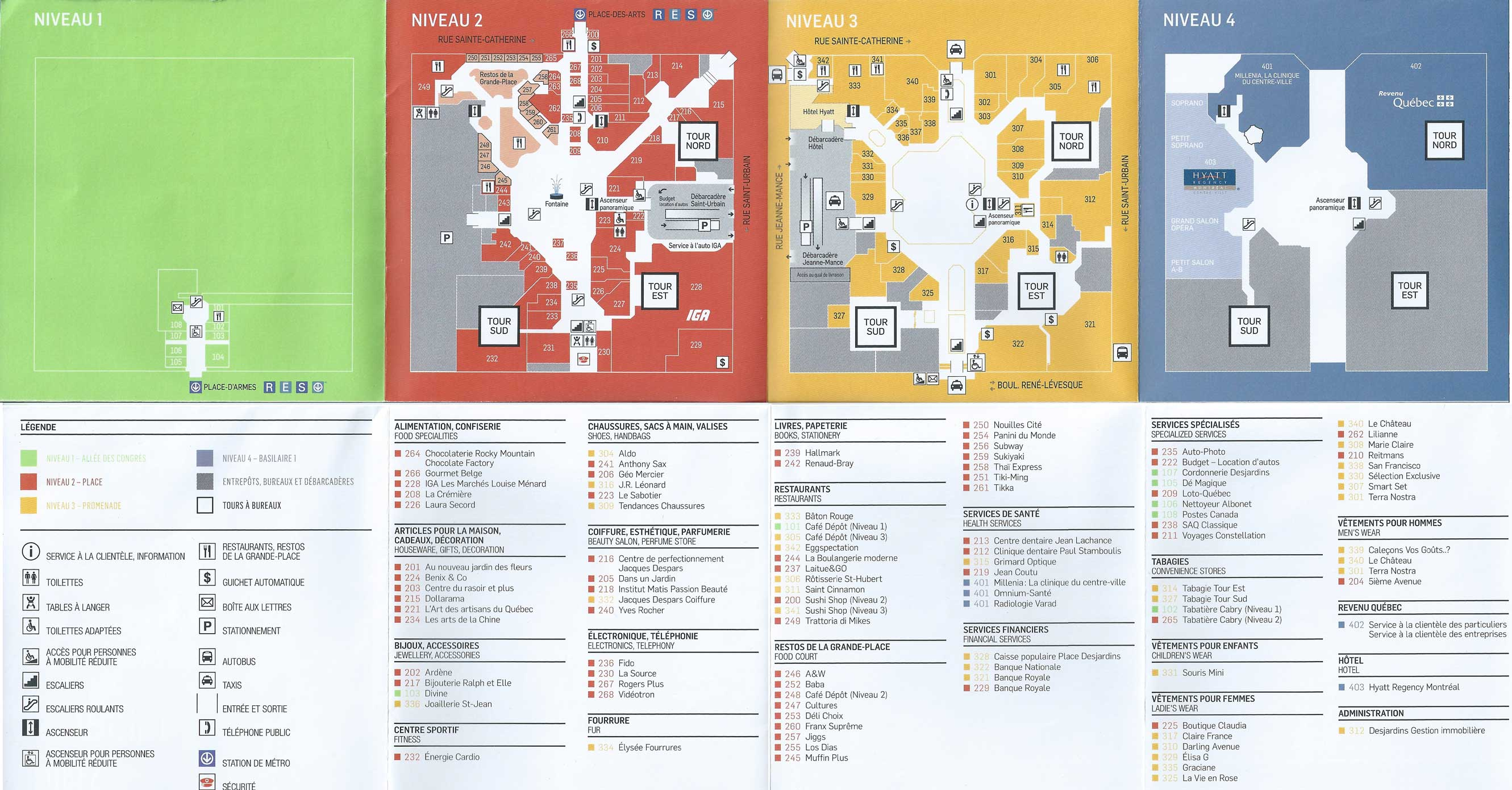 La Subway Map With City Map.Montreal Underground City Discover Restaurants Boutiques