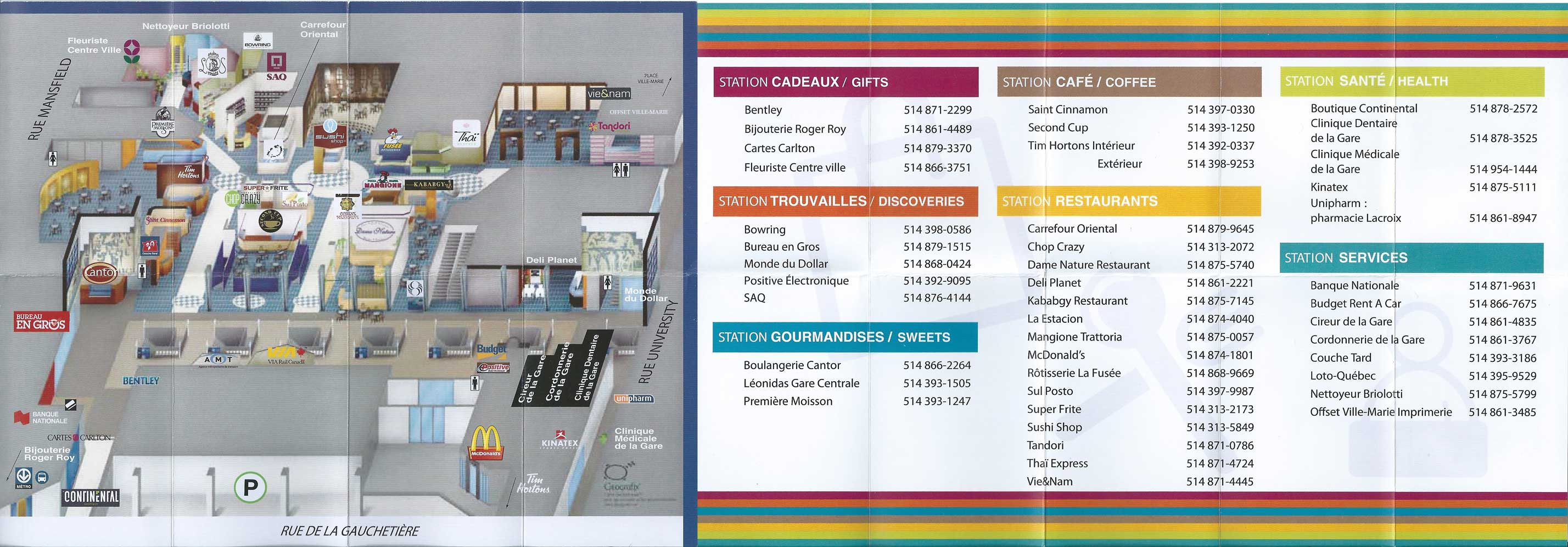 d68ea615394d Montréal Underground City – Discover Restaurants